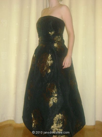Black Dress - Size 12 - 24JO