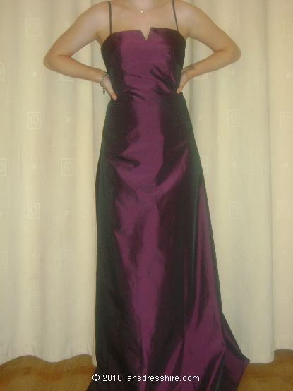 Purple Dress - Size 8 - 30JO