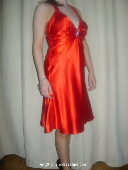 Orange Dress - Size 10 - 40JO