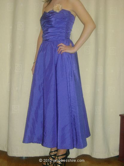 Blue Dress - Size 8 - 39JO