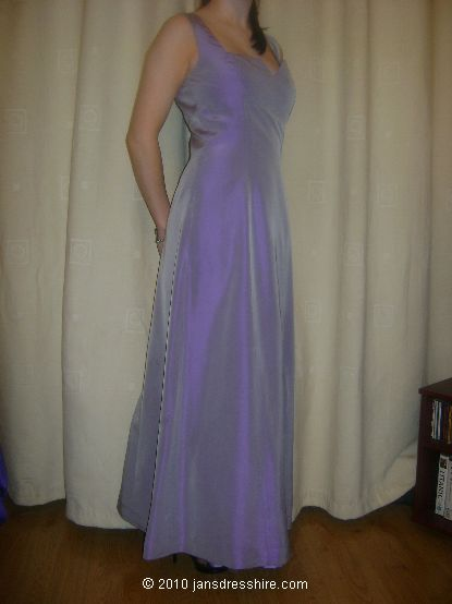 Purple Dress - Size 10 - 36JO