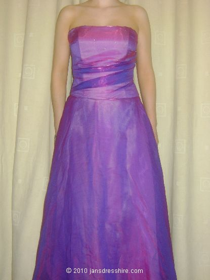 Purple Dress - Size 10 - 33JO