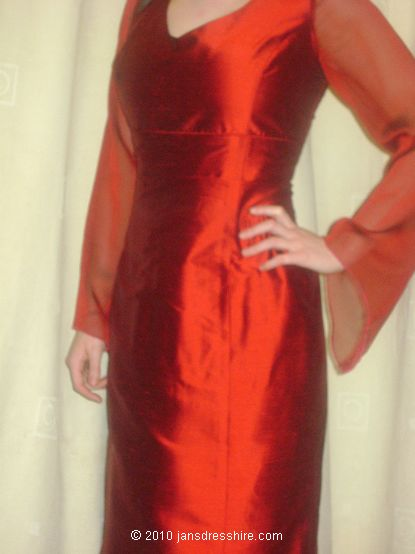 Red Dress - Size 10 - 32JO
