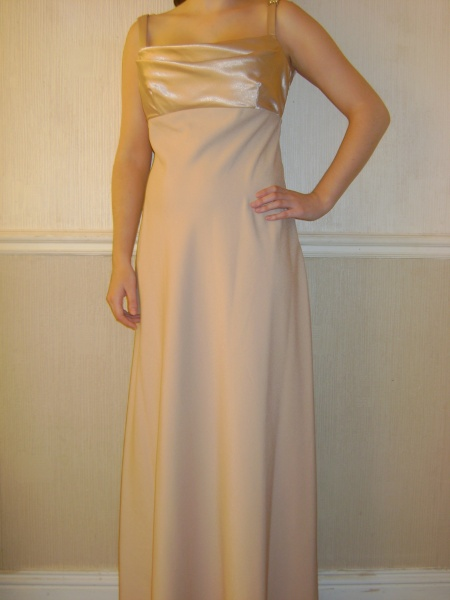 Gold Dress - Size 10 - 60JO