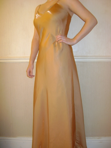 Gold Dress - Size 10 - 63JO