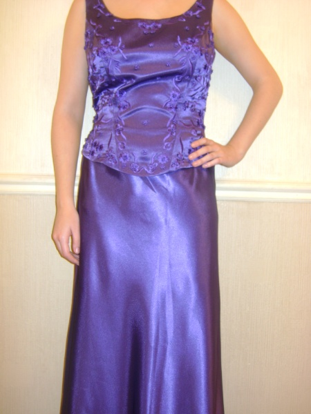 Purple Dress - Size 14 - 66JO