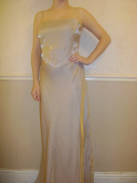 Gold Dress - Size 10 - 75JO