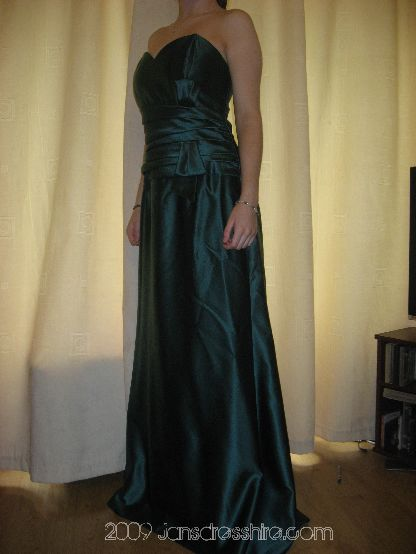 Green Dress - Size 14-16 - 1P