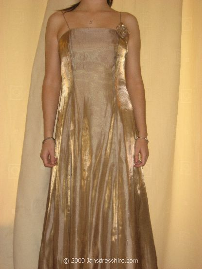 Gold Dress - Size 10 - 21JO