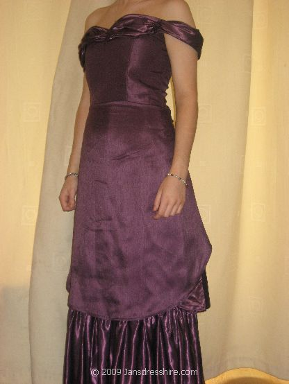 Purple Dress - Size 8 - 19JO
