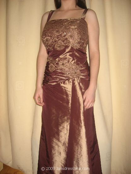 Brown Dress - Size 18 - 20JO
