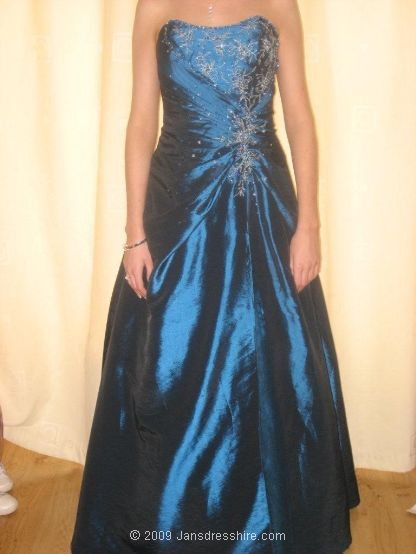 Blue Dress - Size 10 - 22JO