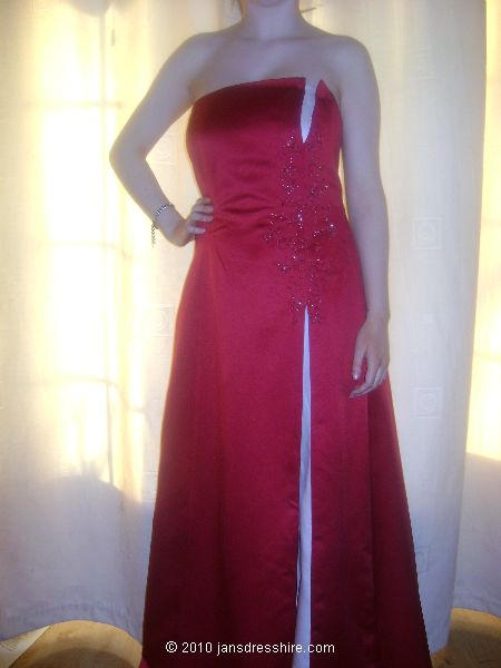 Red Dress - Size 14 - 41JO