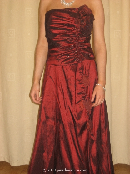 Red Dress - Size 10 - 1A