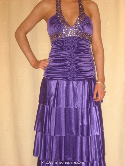 Purple Dress - Size 10 - 8JO