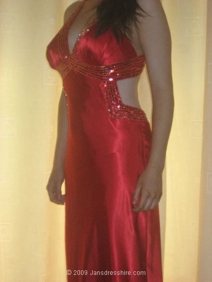 Red Dress - Size 10-12 - 1N