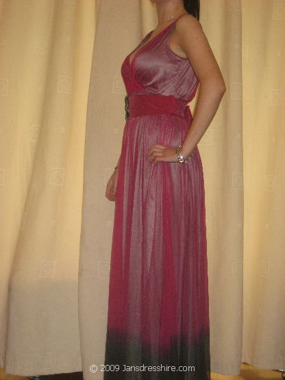 Purple Dress - Size 14 - 2JO