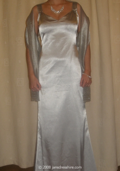 White Dress - Size 8 - 3JO