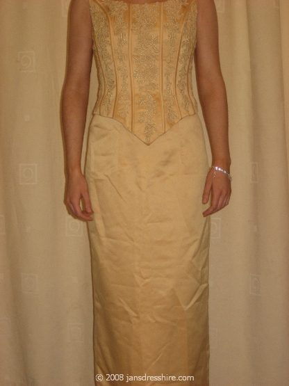 Gold Dress - Size 10 - 2A