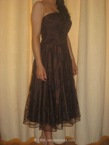 Brown Dress - Size 8 - 2JK