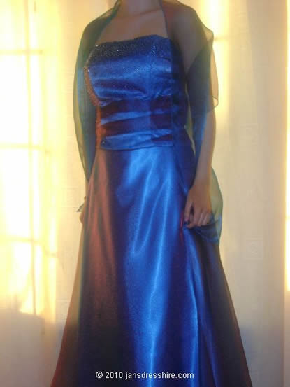 Blue Dress - Size 10 - 42JO