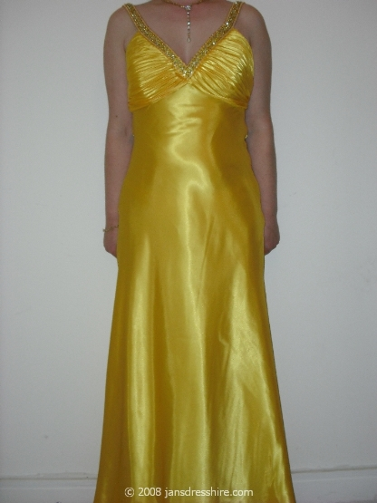 Yellow Dress - Size 10-12 - 4JO