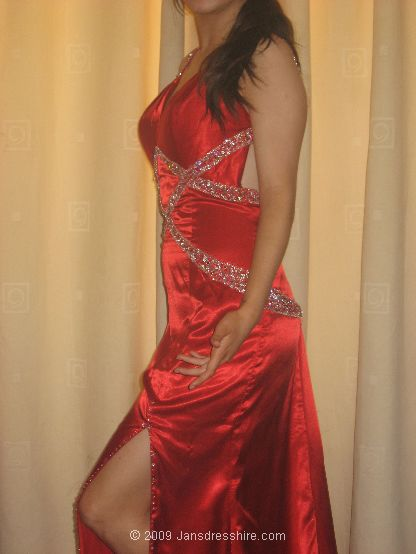Red Dress - Size 12 - 1H