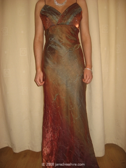 Brown Dress - Size 10 - 1E