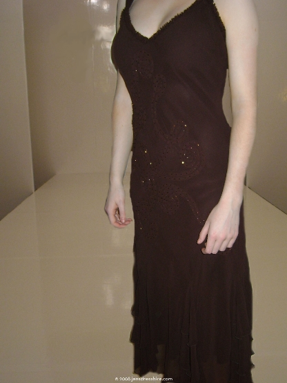 Brown Dress - Size 10 - 15JO