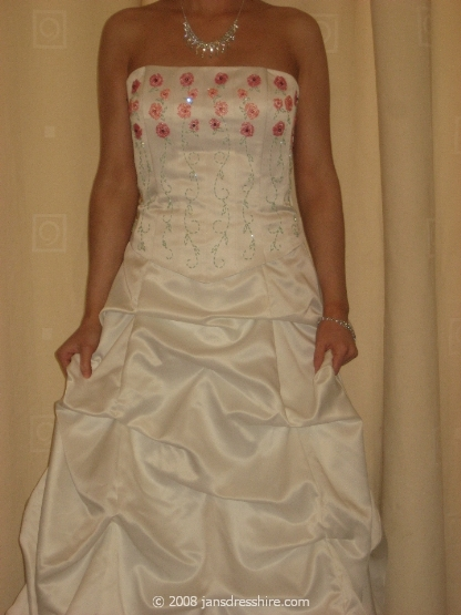 White Dress - Size 10 - 7JO