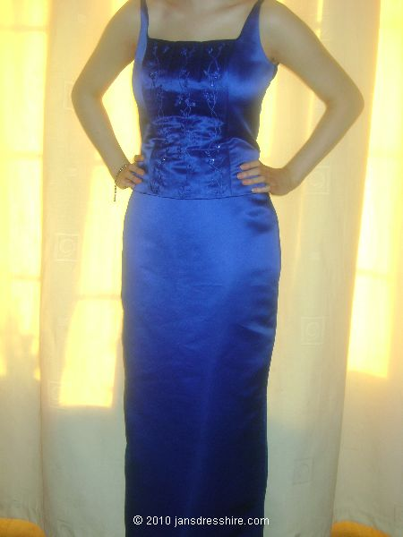 Blue Dress - Size 12 - 48JO