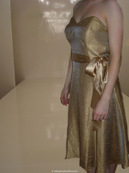 Gold Dress - Size 10 - 17JO