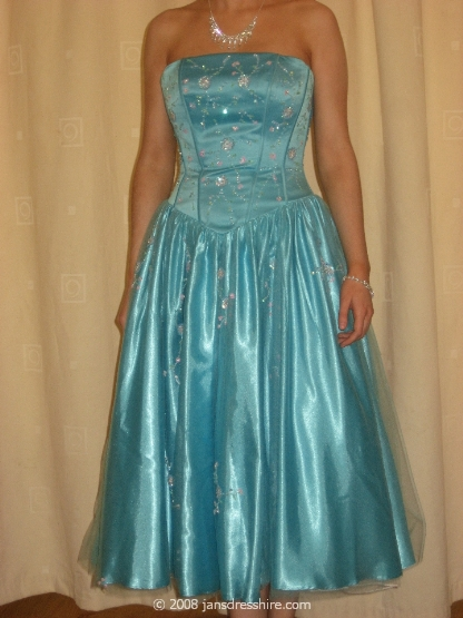 Blue Dress - Size 8 - 9JO