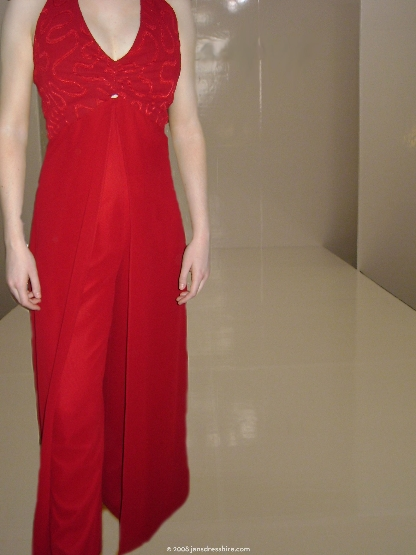 Red Dress - Size 12 - 14JO
