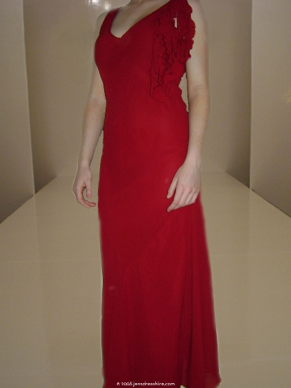 Red Dress - Size 10 - 16JO